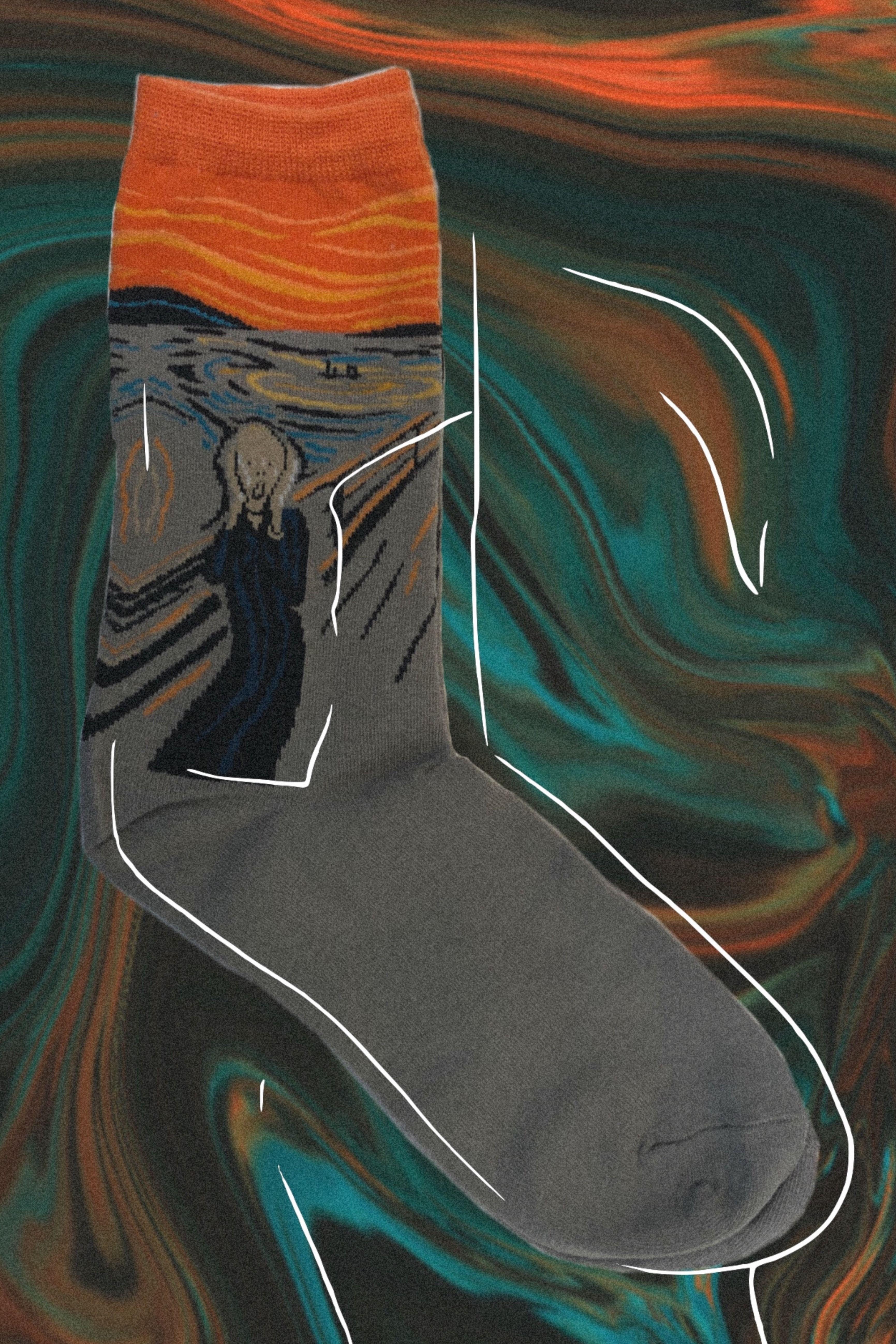 Artistic Socks Trendy Socks Socks Boots