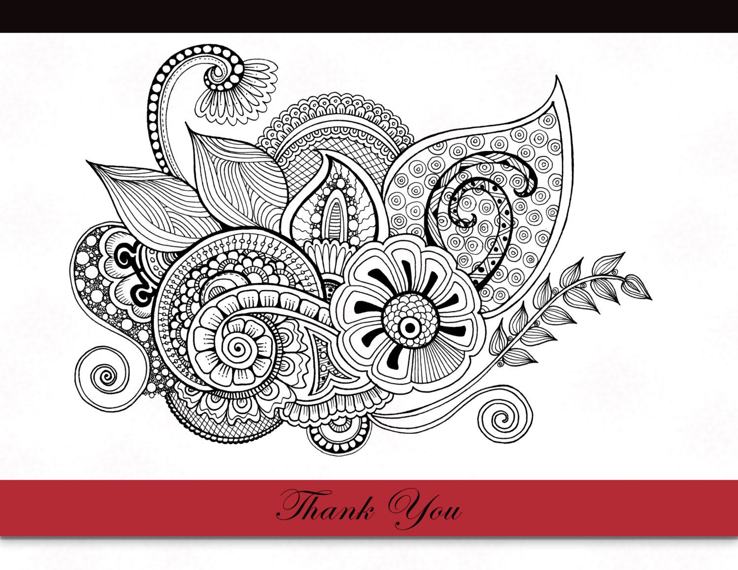 Printable Zentangle Coloring Page for Adults, Mindfulness Coloring ...