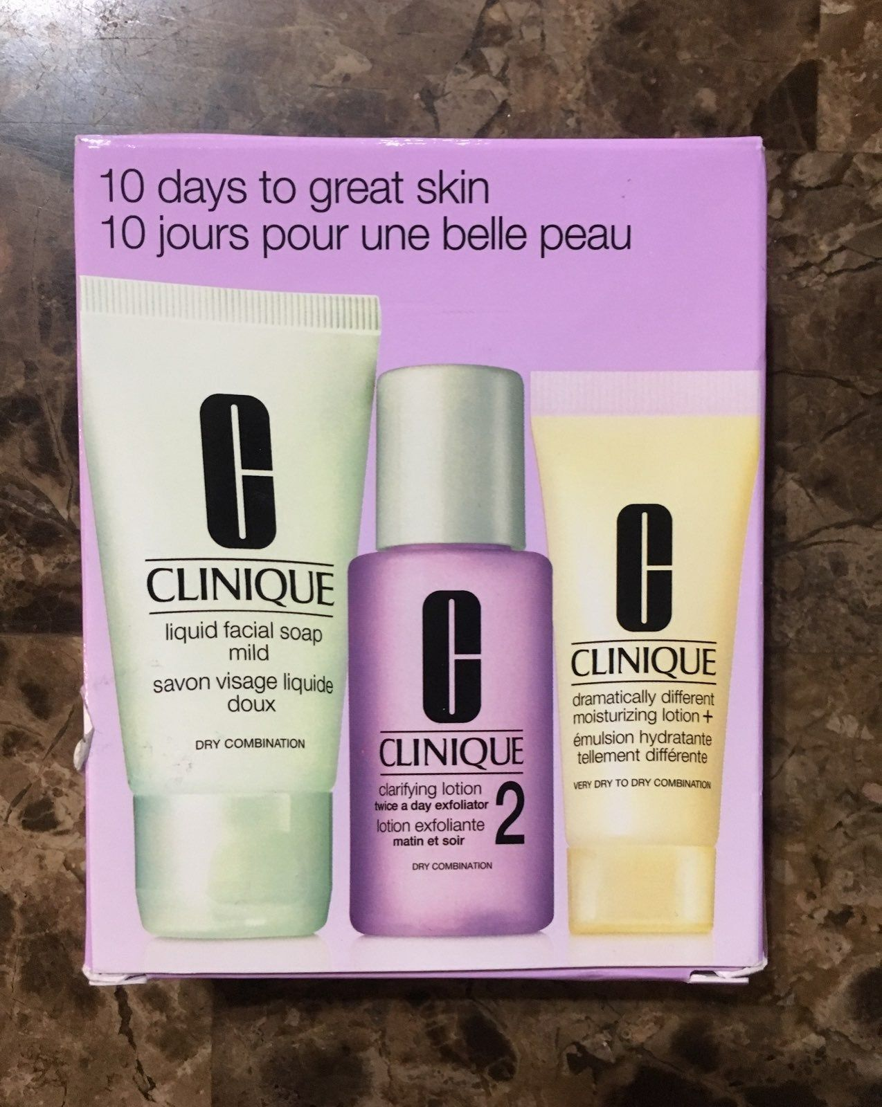 Clinique 3 Step Skin Care System 10 Days To Great Skin Skin Care System Clinique Skin Care