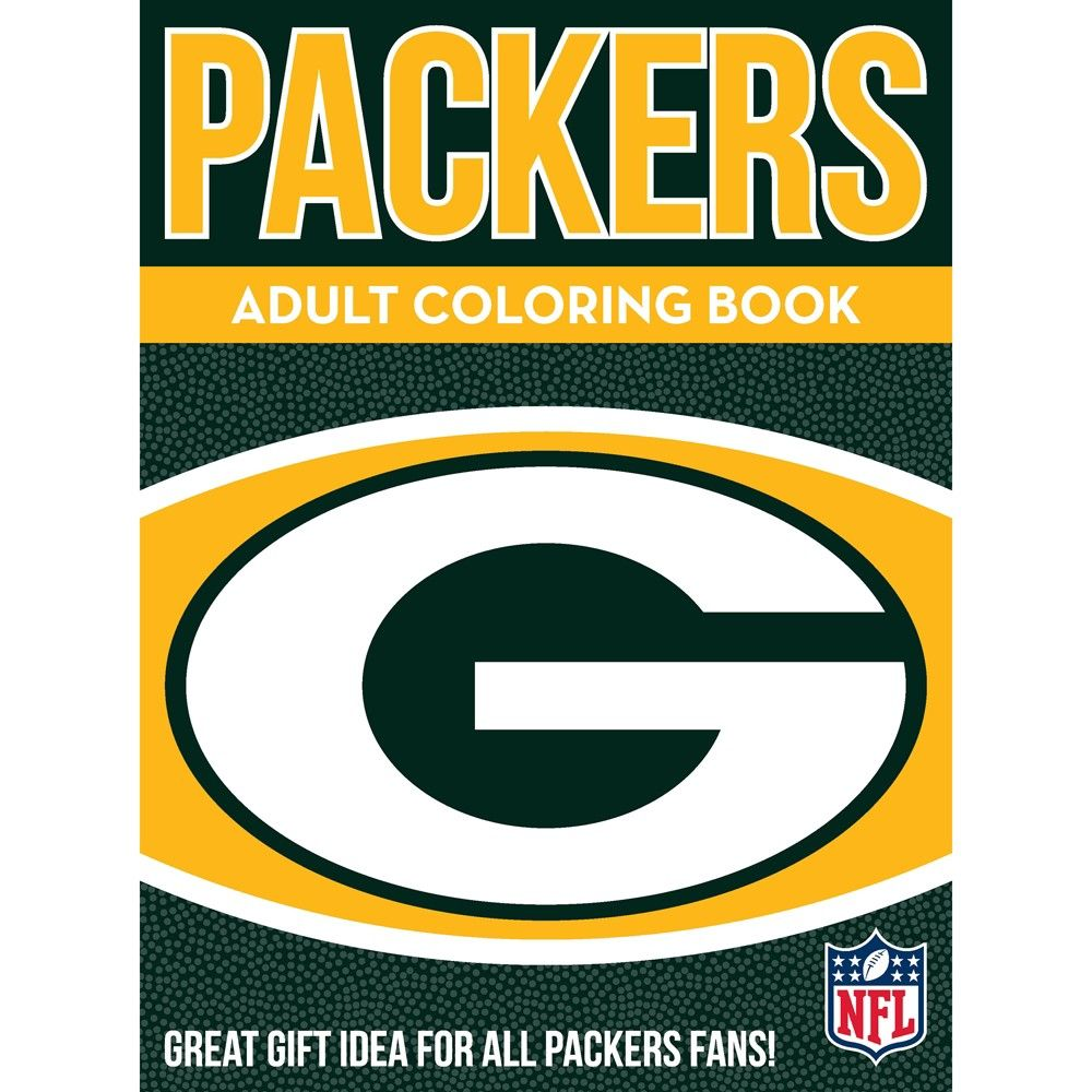 Coloring books nfl green bay packers nfl green bay and products