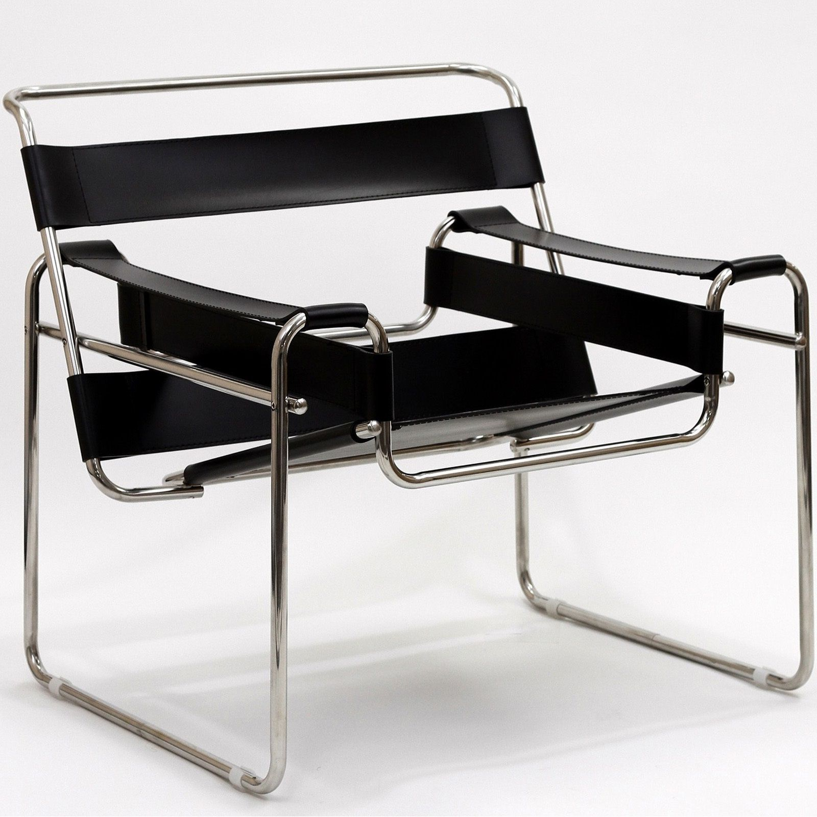 Wassily Style Chair Modern lounge chairs, Chair, Leatherette
