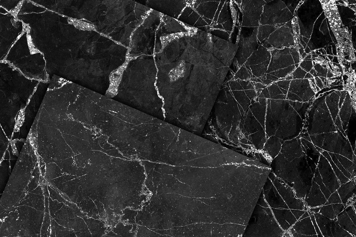 Marble Textures Bundle Marble Texture Stone Texture Black Marble
