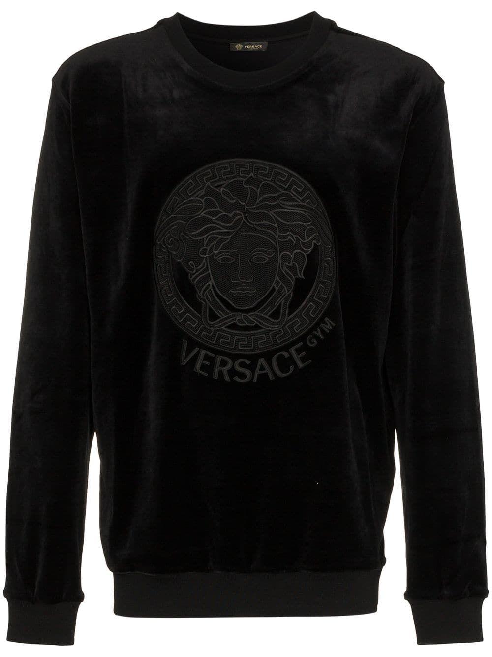 VERSACE VERSACE VERS CRW SWT BLK - BLACK.  versace  cloth   Classy ... c7f34c91002