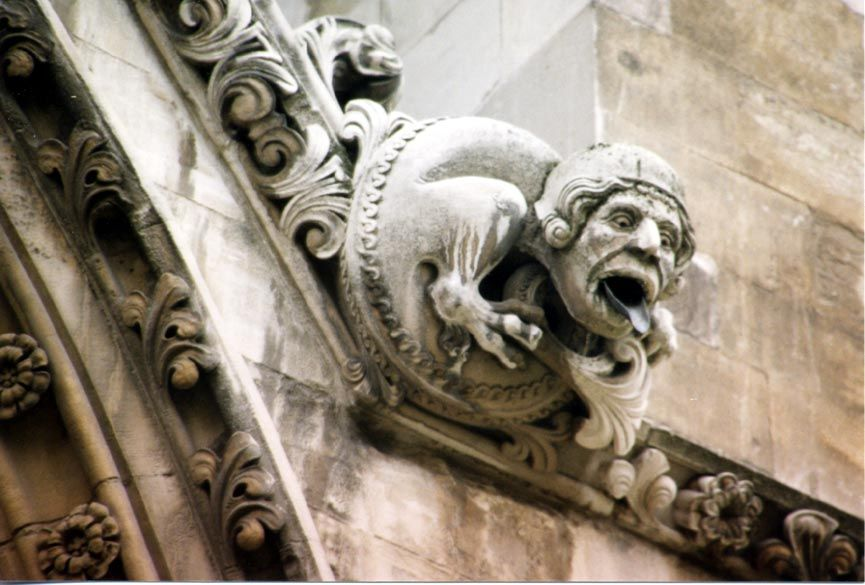 A Medieval Westminster Abbey Gargoyle