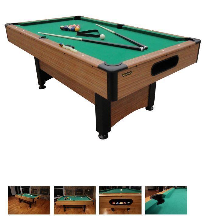 6.5u0027 Pool Table Game Billiard Table Set 2 Cues set of Balls Indoor Sports Xmas  sc 1 st  Pinterest & 6.5u0027 Pool Table Game Billiard Table Set 2 Cues set of Balls Indoor ...