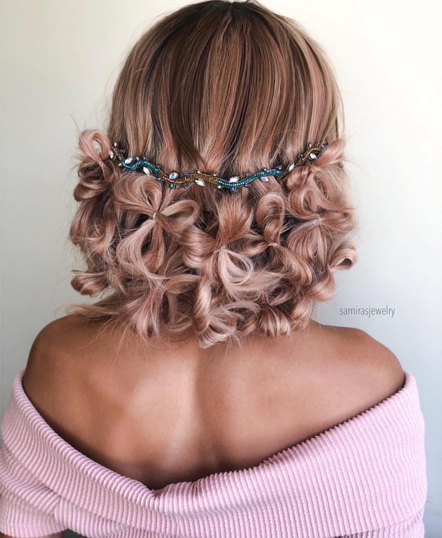 Unique hair do flower effects