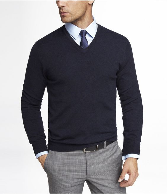 377a83f07e6 Watch out 8 Extraordinary Ways to Wear a V Neck Sweater — Mens Fashion Blog  - The Unstitchd