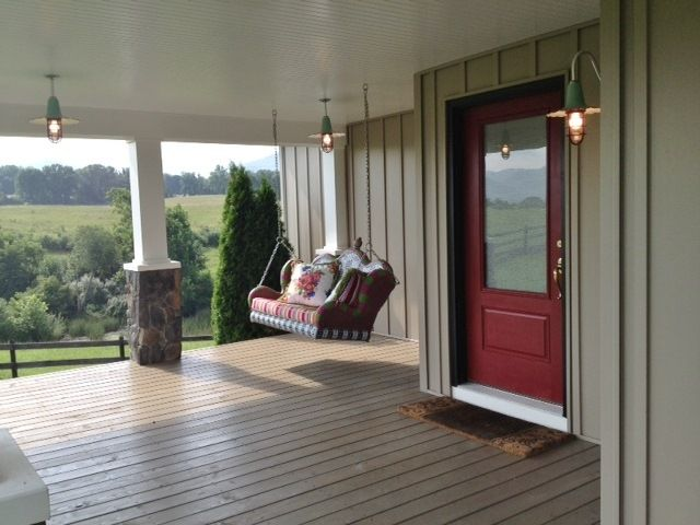 Porcelain Enamel Lighting Adds Unexpected Whimsy To Farmhouse Blog