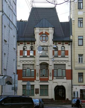 Ryabushinsky Printshop project by Fyodor Osipovich Schechtel