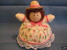 Pincushion Doll Dressed In Pink - Handmade #31 - NEW