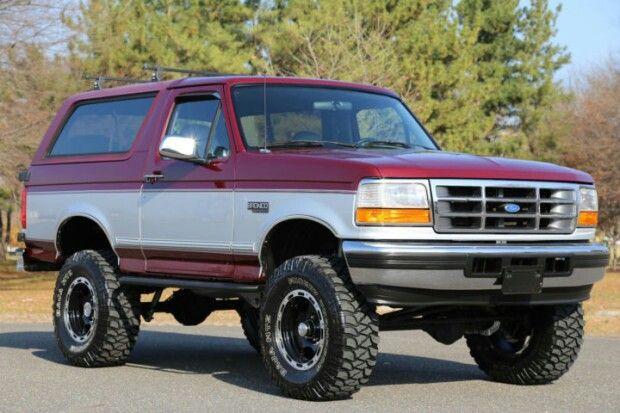 94 Xlt Ford Bronco Classic Trucks Ford Bronco Bronco