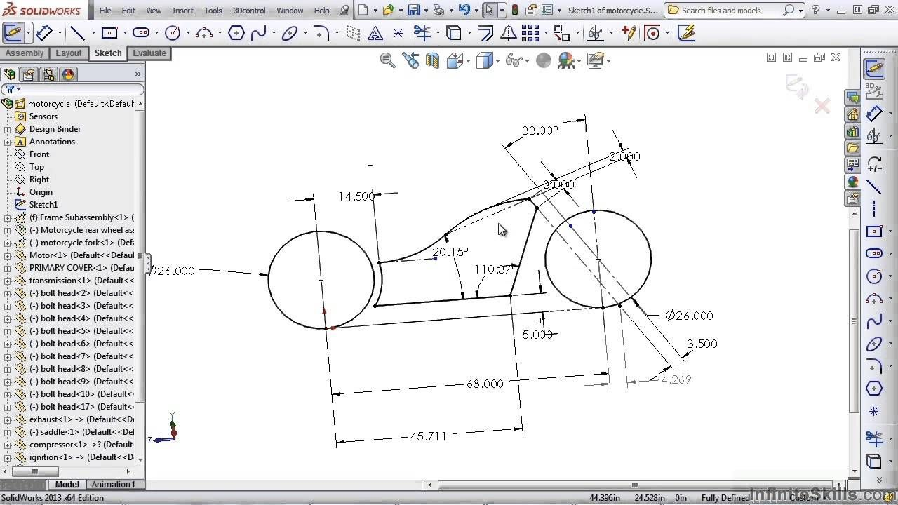 Dimension Sketches Of A Drone Google Search Solidworks