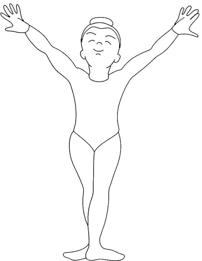 Gymnastics Coloring Pages With Images Sports Coloring Pages Coloring Pages For Kids Gymnastics Pictures