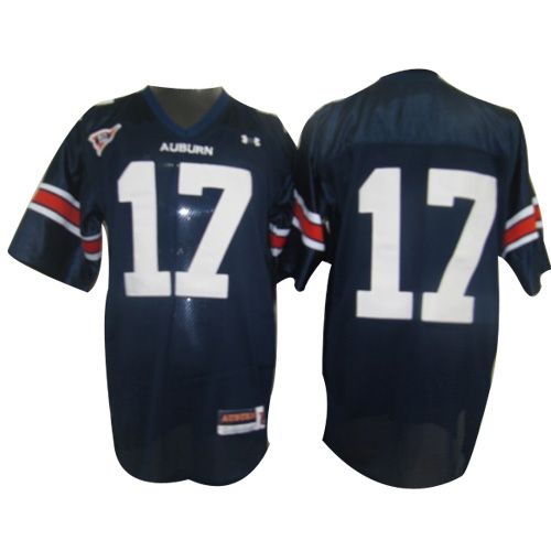 Tigers #17 Blue Embroidered NCAA Jersey prices USD $21.50 #cheapjerseys #sportsjerseys #popular jerseys #NFL #MLB #NBA