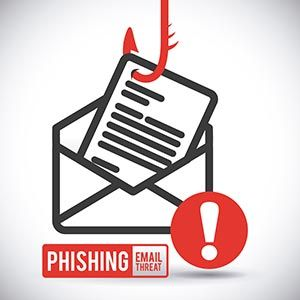 HIPAA, phishing... it happens everyday. Criminals go phishing hoping to catch a human!