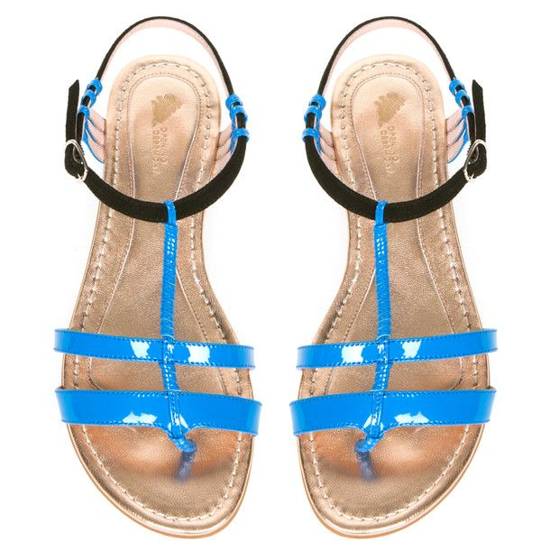 Opening Ceremony Cabana Sandals ($350) ❤ liked on Polyvore