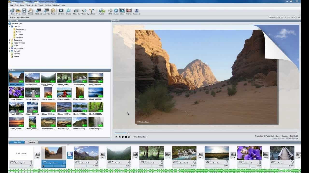 How to Create a Photo Slideshow in ProShow Gold | Photo slideshow, How to memorize things, Photo