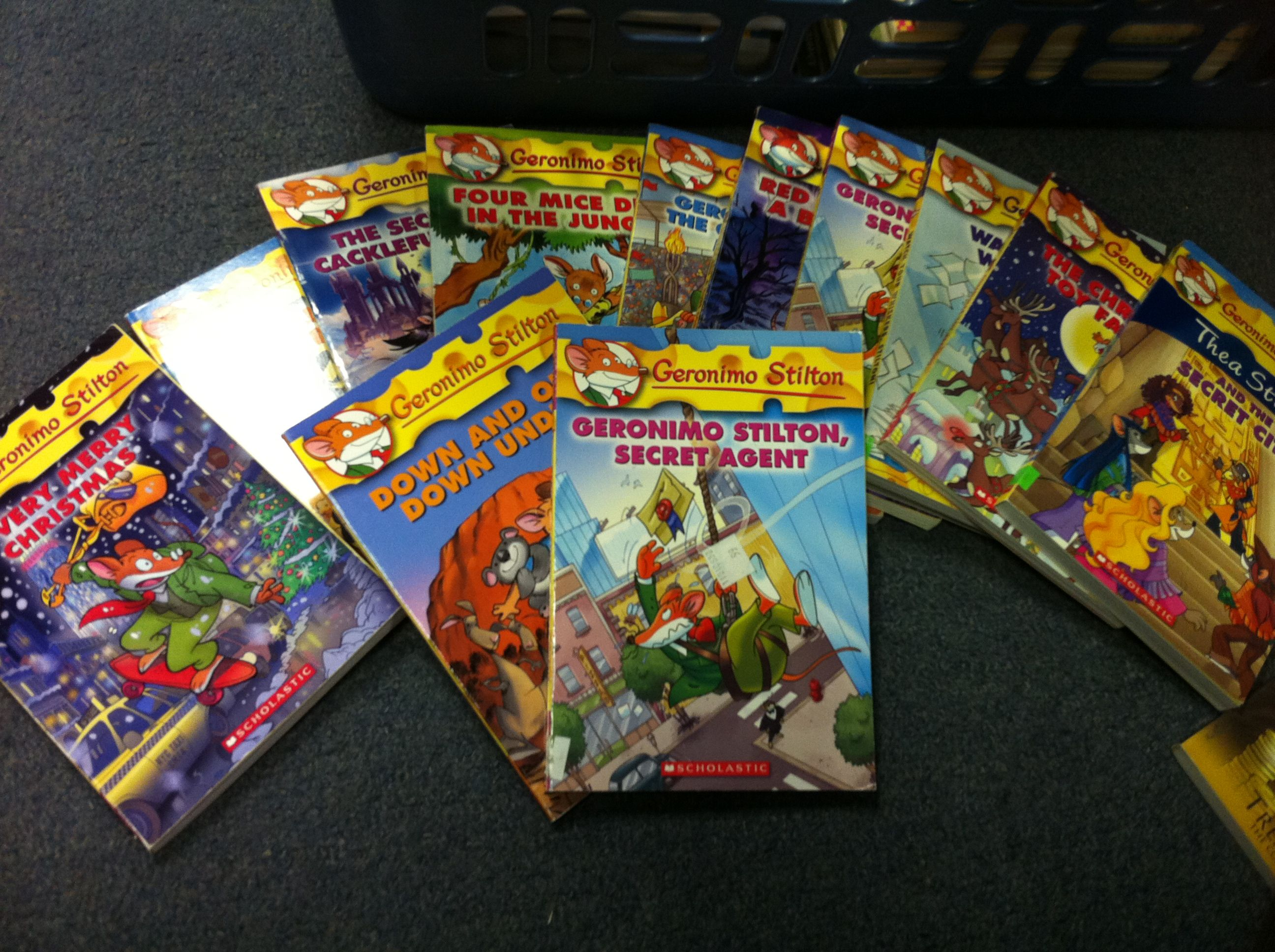 geronimo stilton books starting at 1 50 at once upon a child ajax