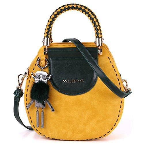 284b47d740d9 MUSAA Vintage Round Shape PU Leather Handbag – MY SEXY STYLES | Bags ...