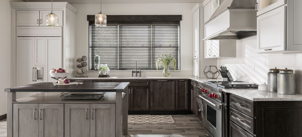 grey stain on pine - Google Search | Medallion cabinets ...