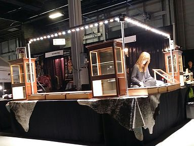 Modern Led Trade Show Lighting Designed For Art Craft