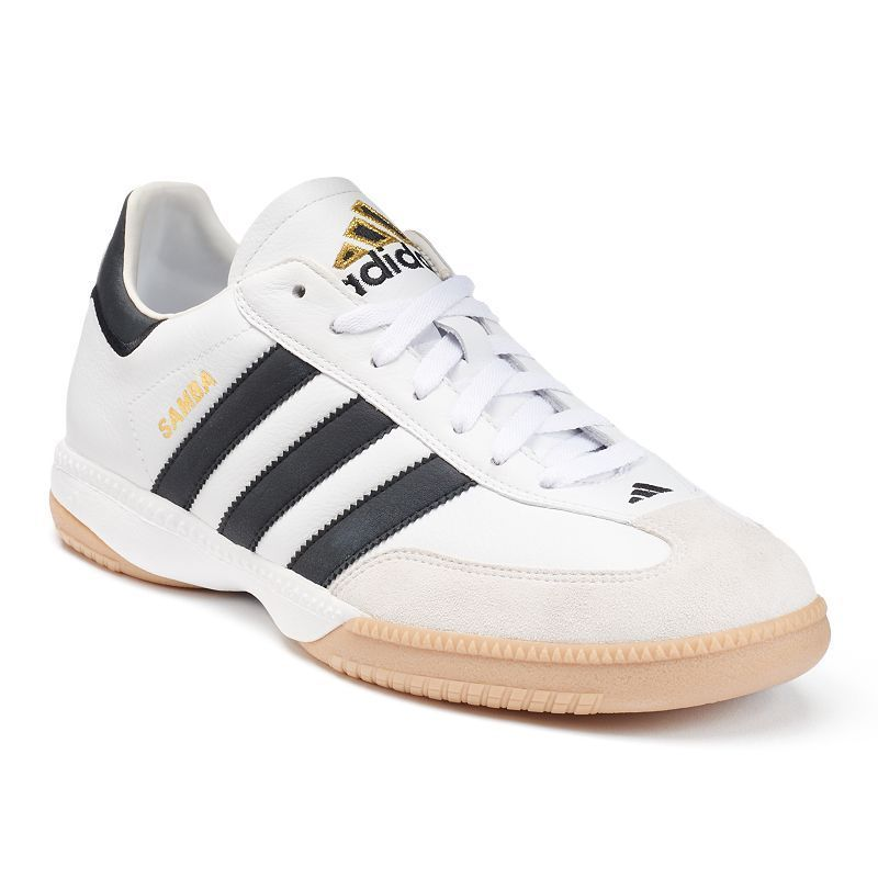 Adidas Samba Millennium Men's Indoor Soccer Shoes, Size: 10.5, White