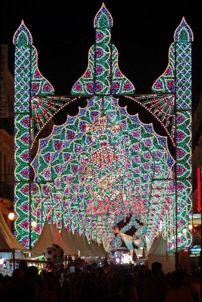 Las Fallas Lights - Valencia, Spain | Where I'm Going ...