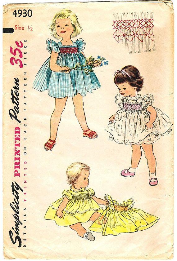 Sweet Vintage Baby Dress