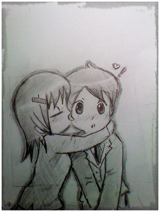 Resultados de la búsqueda de imágenes: dibujos de amor a lapiz - Yahoo Search