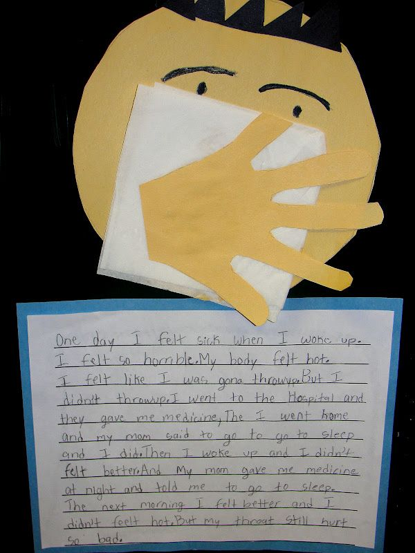 Personal Narrative When I Was Sick Writing 2nd Grade