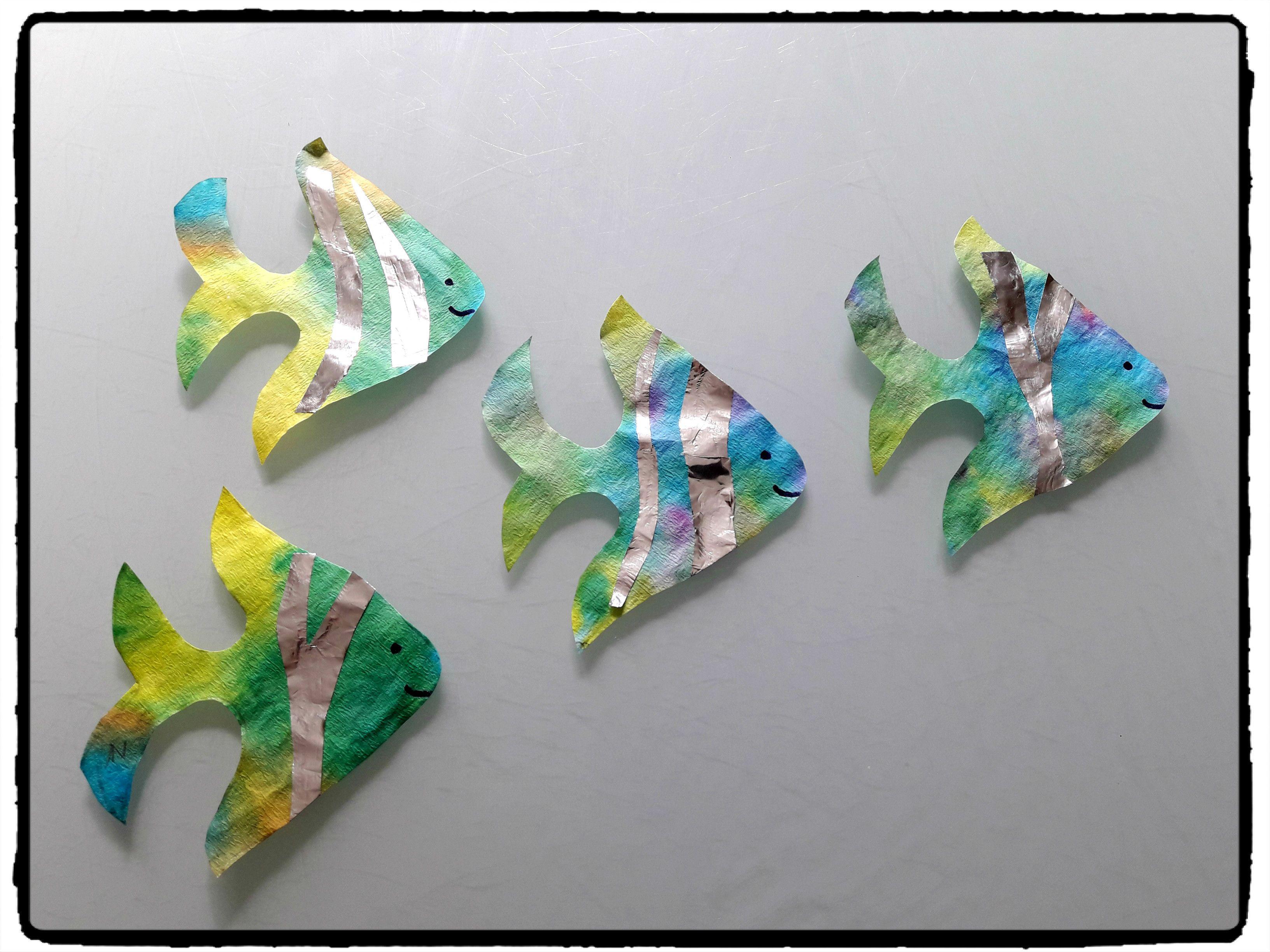 Fabriquer Une Tour A Poisson fabriquer des poissons colorés avec les enfants -   poissons