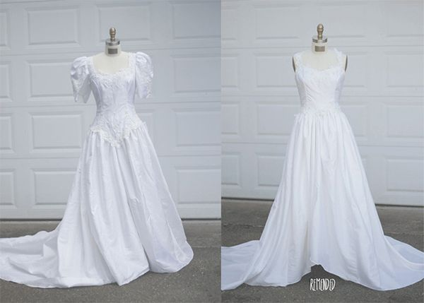 55 Intelligent Fun Ways To Refashion Prom Wedding Formal Dresses Paris Ciel