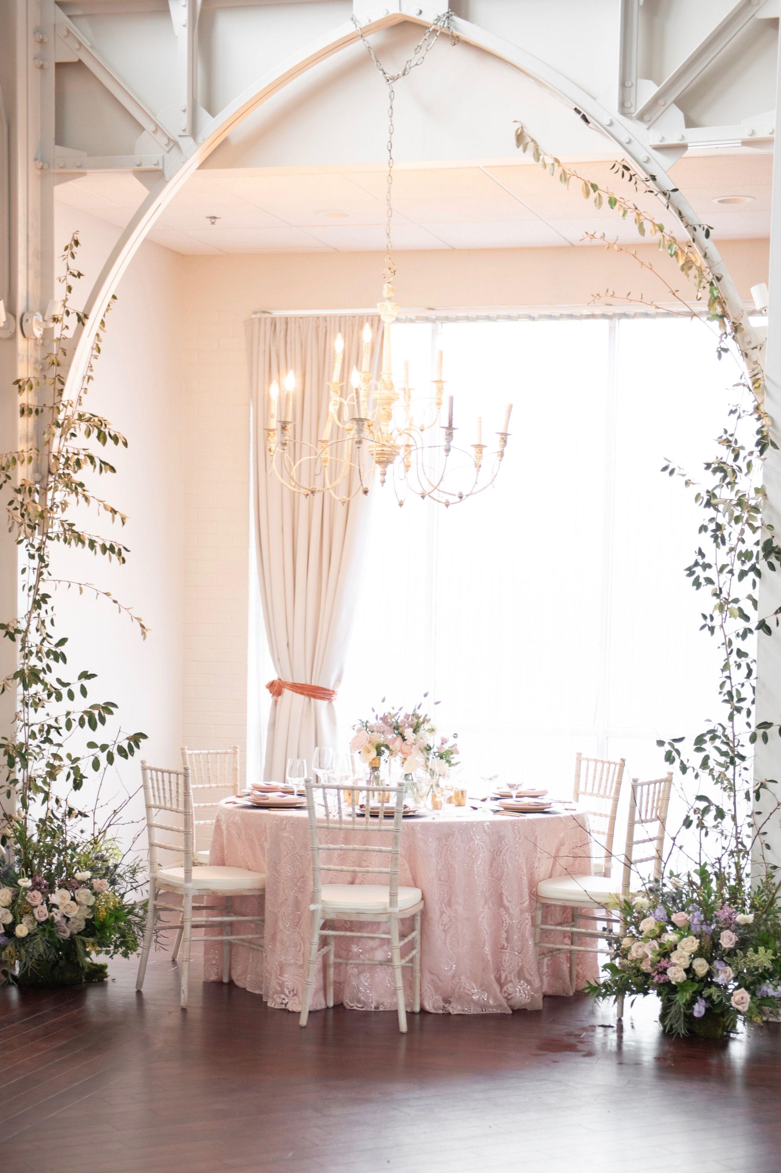 Vintage Romance + Whimsical Ivory Chandelier Elegant