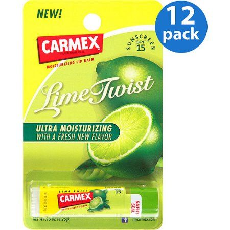 Carmex Vanilla SPF 15 Moisturizing Smooth Lip Balm - Pack of 12 0.15 Oz Each PurJoiVie Lip Balm With Shea Butter - Set of 4 Fresh n Fruity Fruit Flavors