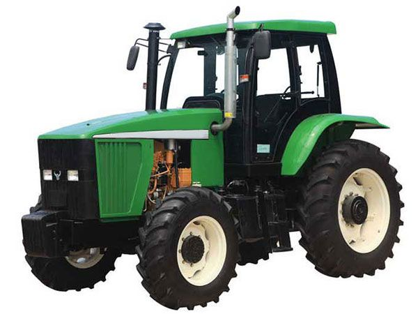 LP-1354 tractor forward gears and 2 reverse gears, constant-engagement helical cylindrical gear, engagement sleeve shifting (synchronizer) you can see more:http://www.langpu-farm-machinery.com/wheeled-tractor/lp-1354.html