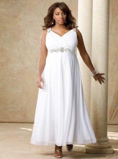 Modelos vestidos matrimonio para gorditas