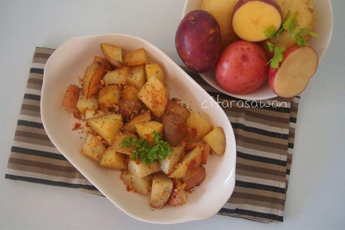 Recipes Today Kentang Panggang Roasted Potatoes Kentang Panggang Panggang Makanan Pendamping