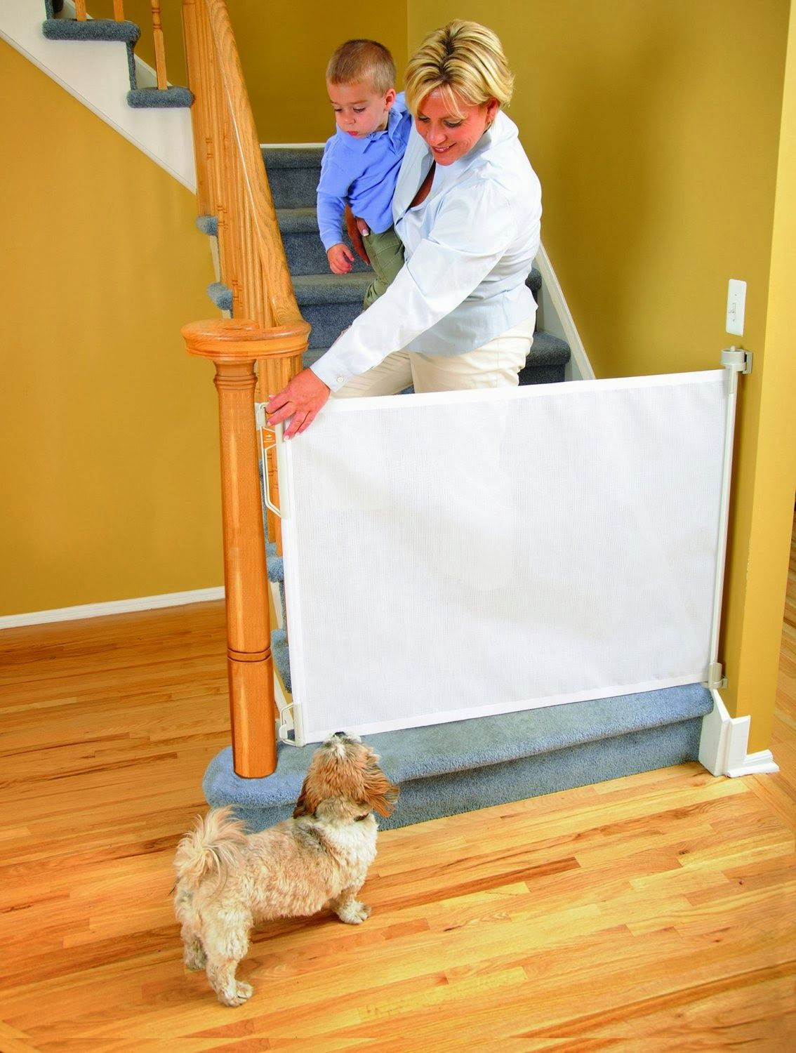 Simple Baby Safety Gate For Stairs Design Ideas with Soft