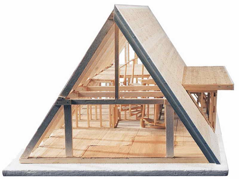 Merveilleux Brodhead Garrett A Frame House Framing Kit Is An Unconventional A Frame  Cabin In Accordance With Accepted Building Codes. Kit With 6 Working  Drawings Allows ...