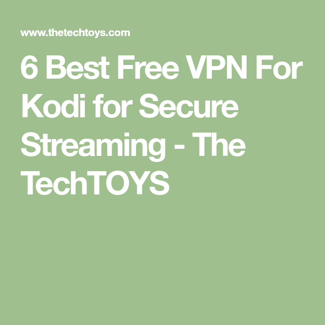 Vpn For Kodi On Raspberry Pi
