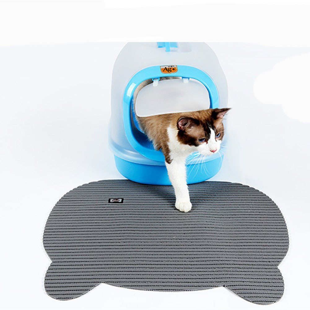 Homeself Large Folding Cat Litter Mat Waterproof Nonslip Foldable