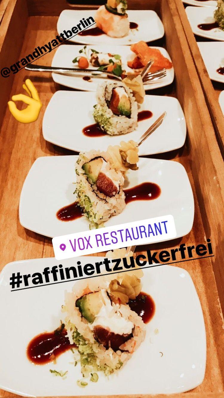 Sushi raffiniert zuckerfrei ab sofort im Grand Hyatt Berlin