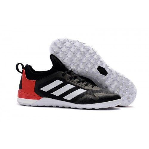 cheaper d40b2 10438 Adidas ACE Tango 17 Purecontrol IC Nogometne Tenisice Black Red White  Prodaja