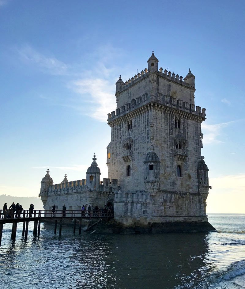 The Tower of Bélem, Portugal #travel #visitportugal #towerofbelem