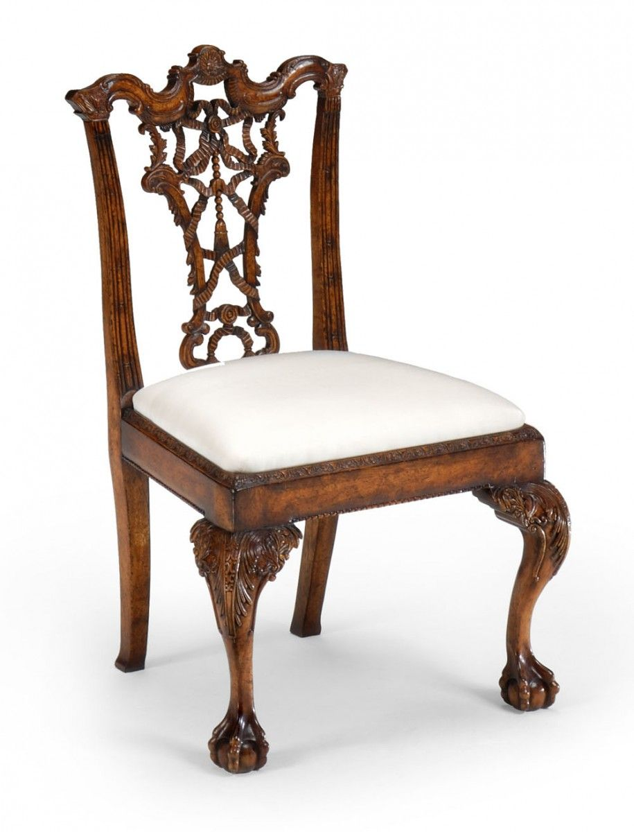Authentic chippendale chairs -  158 Chippendale Ribband Back Chair