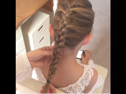 French Braid / Plait - 2 Different Ways of Holding Strands by SweetHearts Hair Design - YouTube