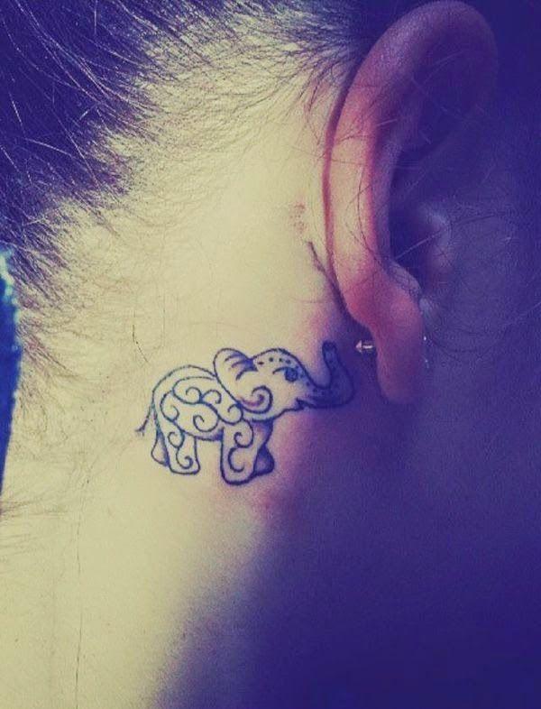 Tatuajes De Elefantes Para Chicas Y Su Significado Tattoos