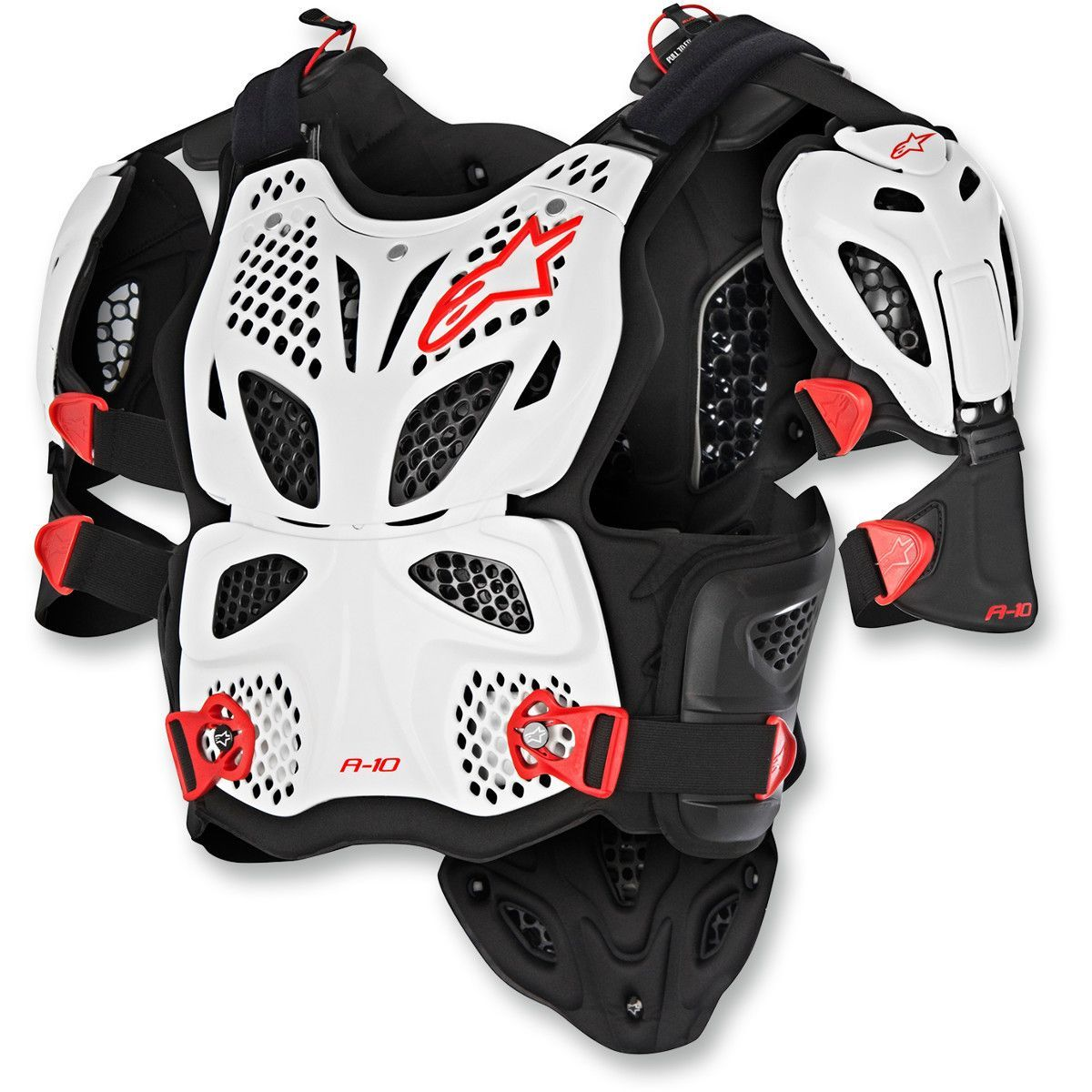 Alpinestars A 10 Chest Protector Black And Red Alpinestars Body Armor
