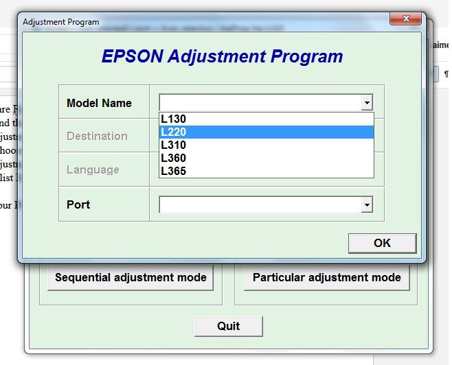 Resetter epson l220 download free | Epson L220 Printer Drivers