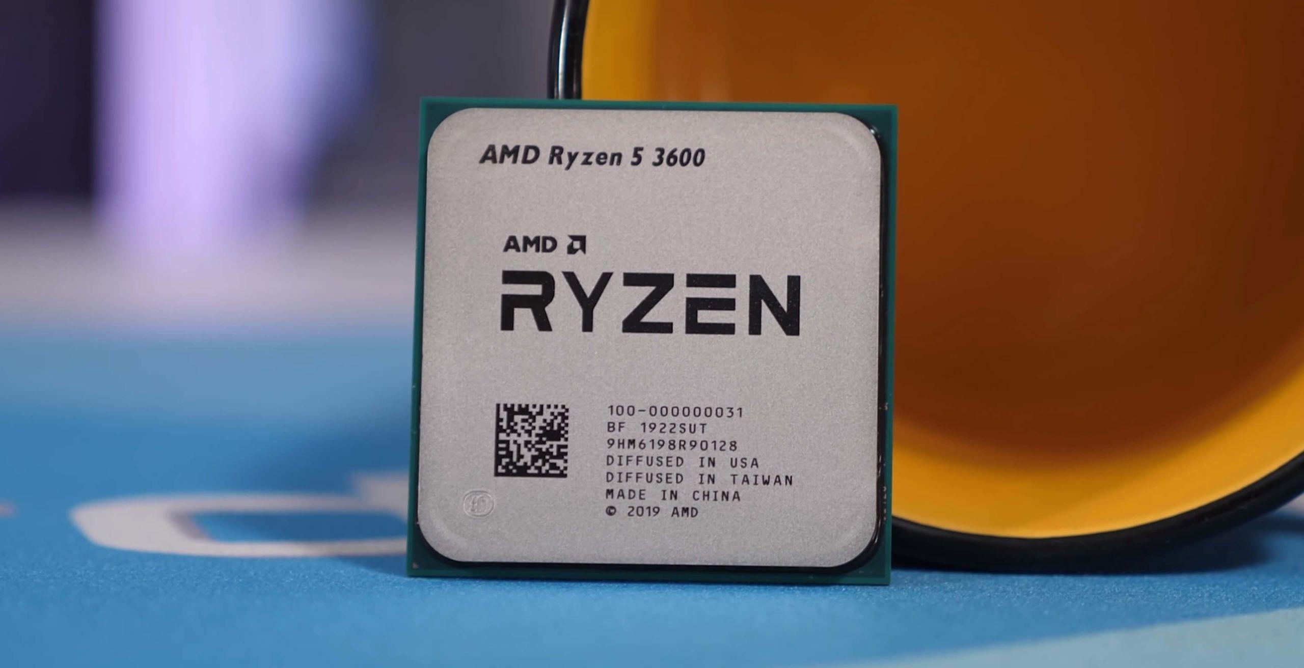 مراجعة معالج Amd Ryzen 5 3600 المعالج الأكثر مبيعا في أمازو Motherboards Memory Stick Ddr4
